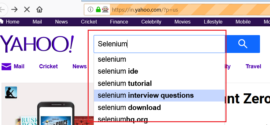 Select the Date from DatePicker in Selenium WebDriver